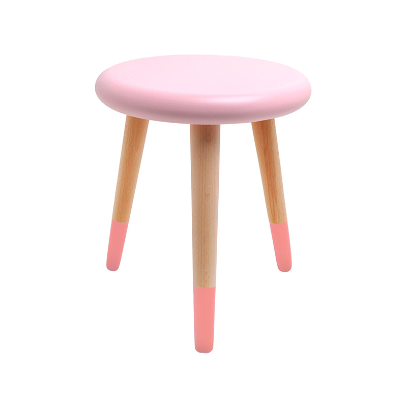 Alice Stool - Light Pink/Coral Pink
