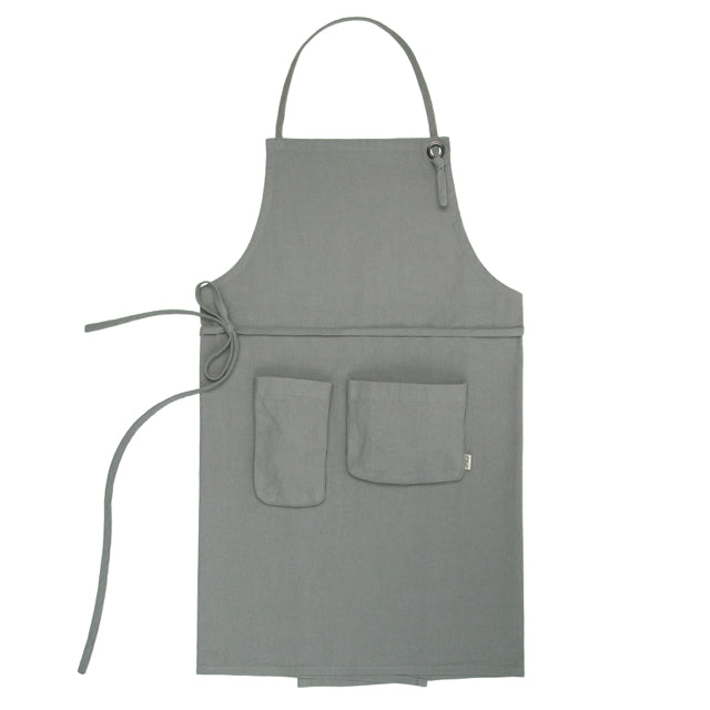 Adult Apron - Silver Grey