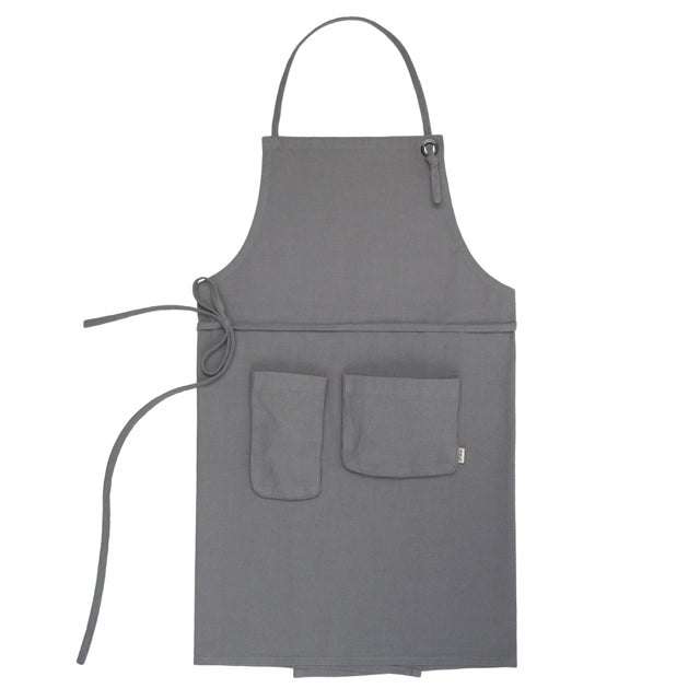 Adult Apron - Stone Grey