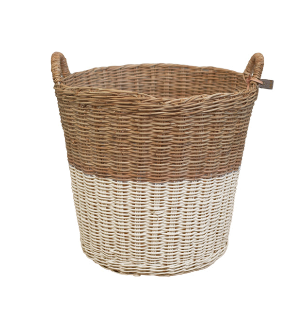 Rattan Basket - Natural Large