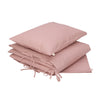 Bedding Set Dusty Pink w/ Stars