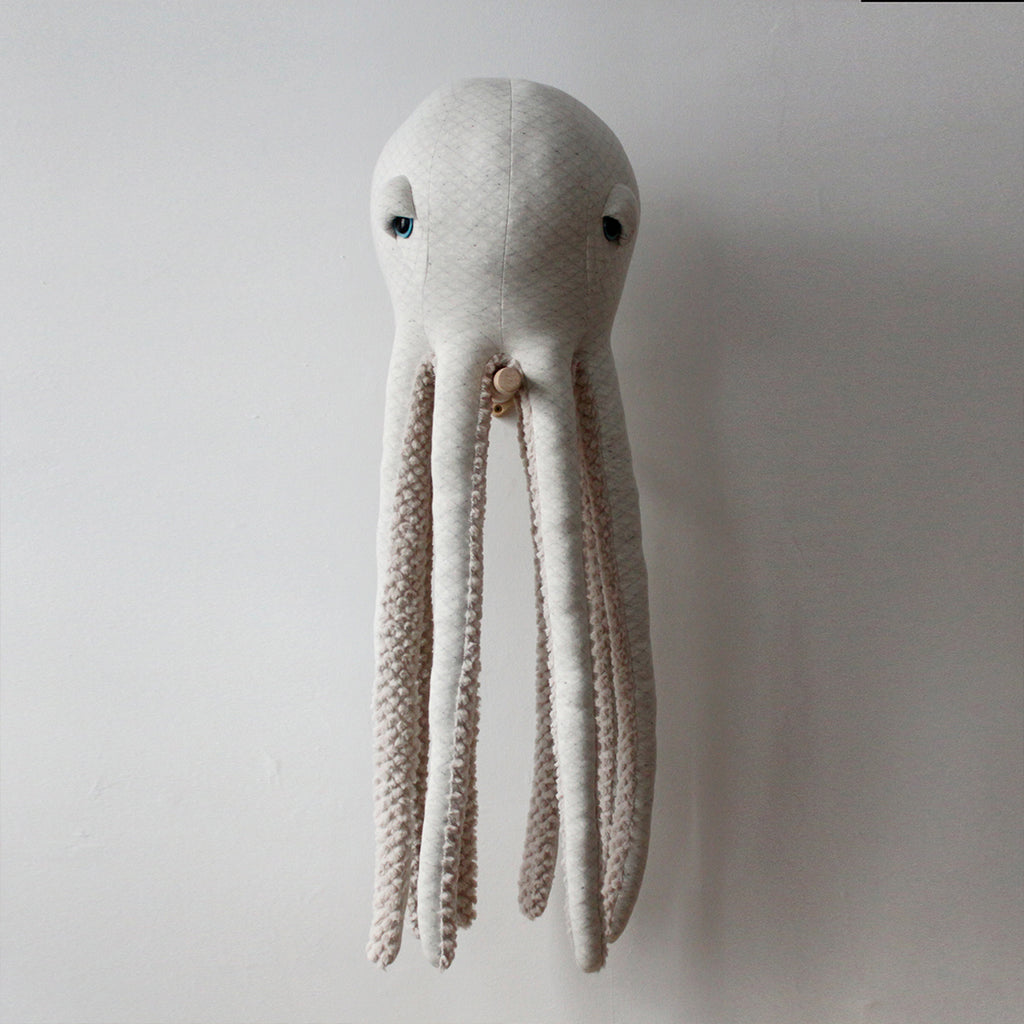 Big Albino Octopus