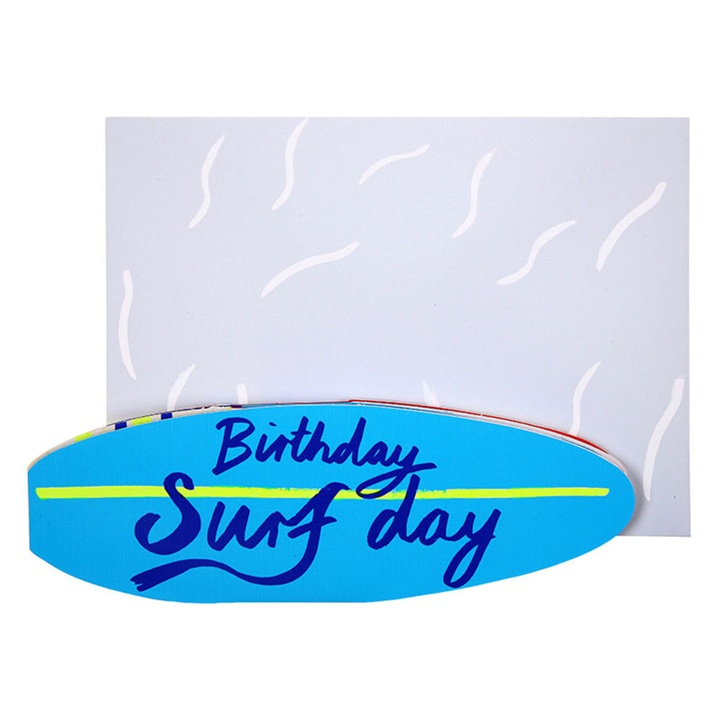 Birthday Surfday Card