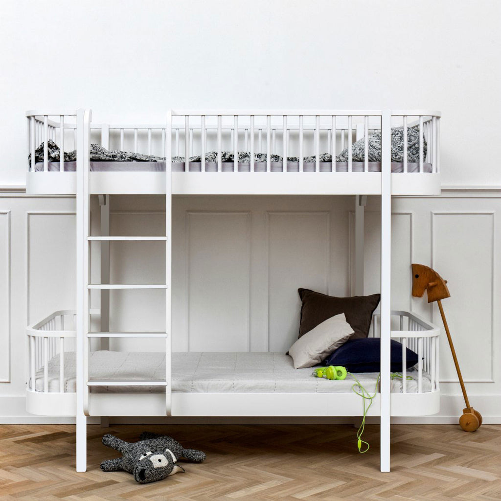 Oliver - Wood Collection Bunk bed (ladder front)