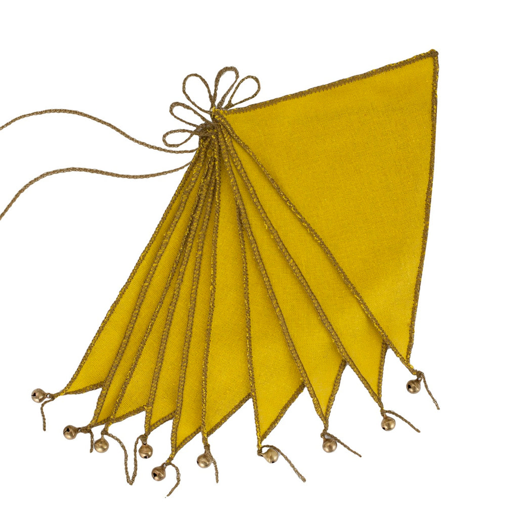 Bunting Garland - Sunflower Yellow