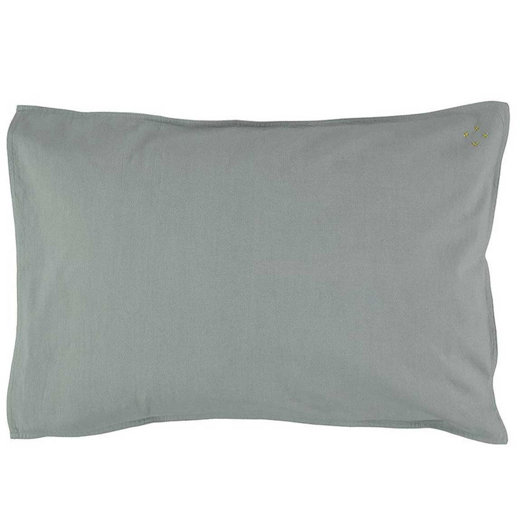 Solid Colour Pillow Case - Chambray
