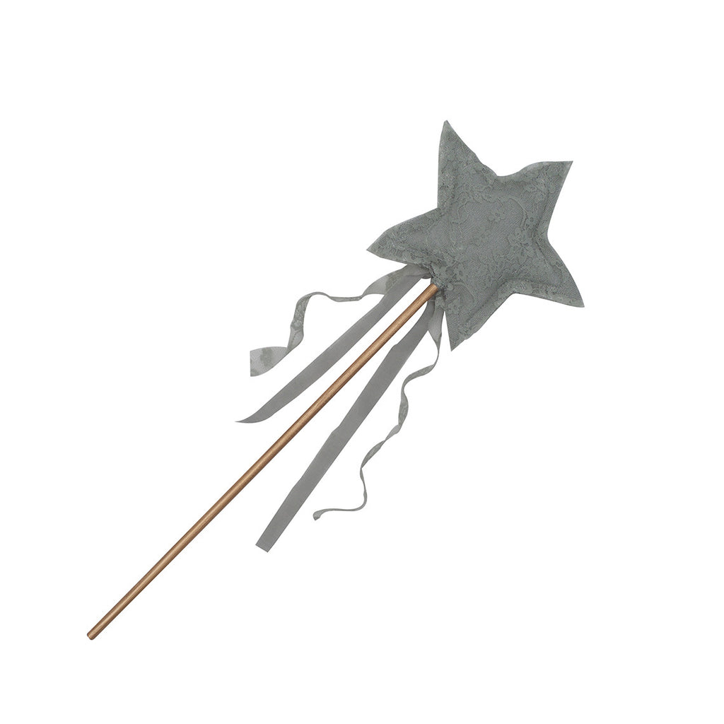 Carolina Star Wand - Silver Grey Lace