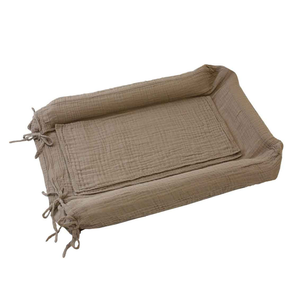 Changing Pad Cover Square - Beige