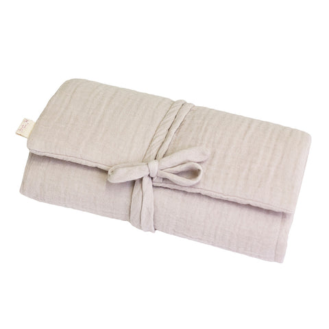 Changing Pad Cover Square - Silver Grey