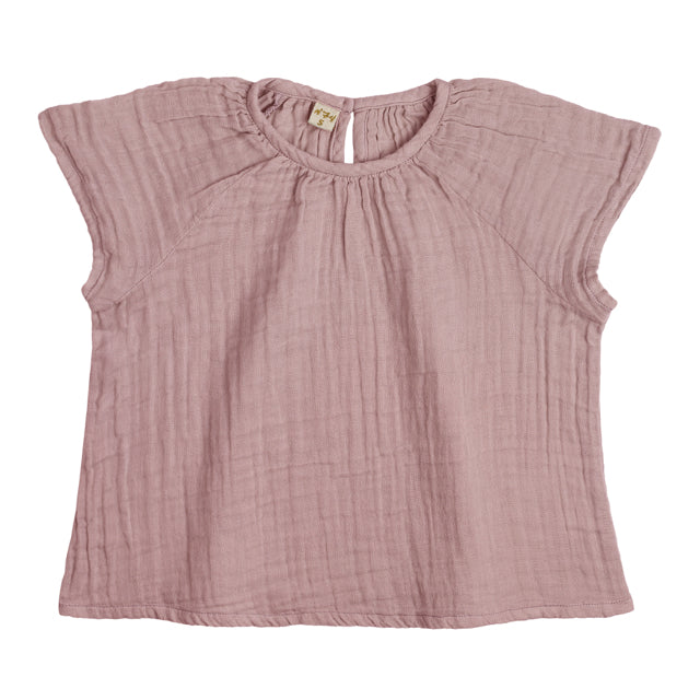 Clara Top - Dusty Pink