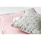 Cushion Bird Print Pink