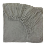 Fitted Sheet - Silver Grey