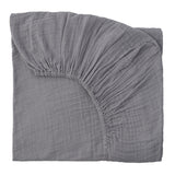 Fitted Sheet - Stone Grey
