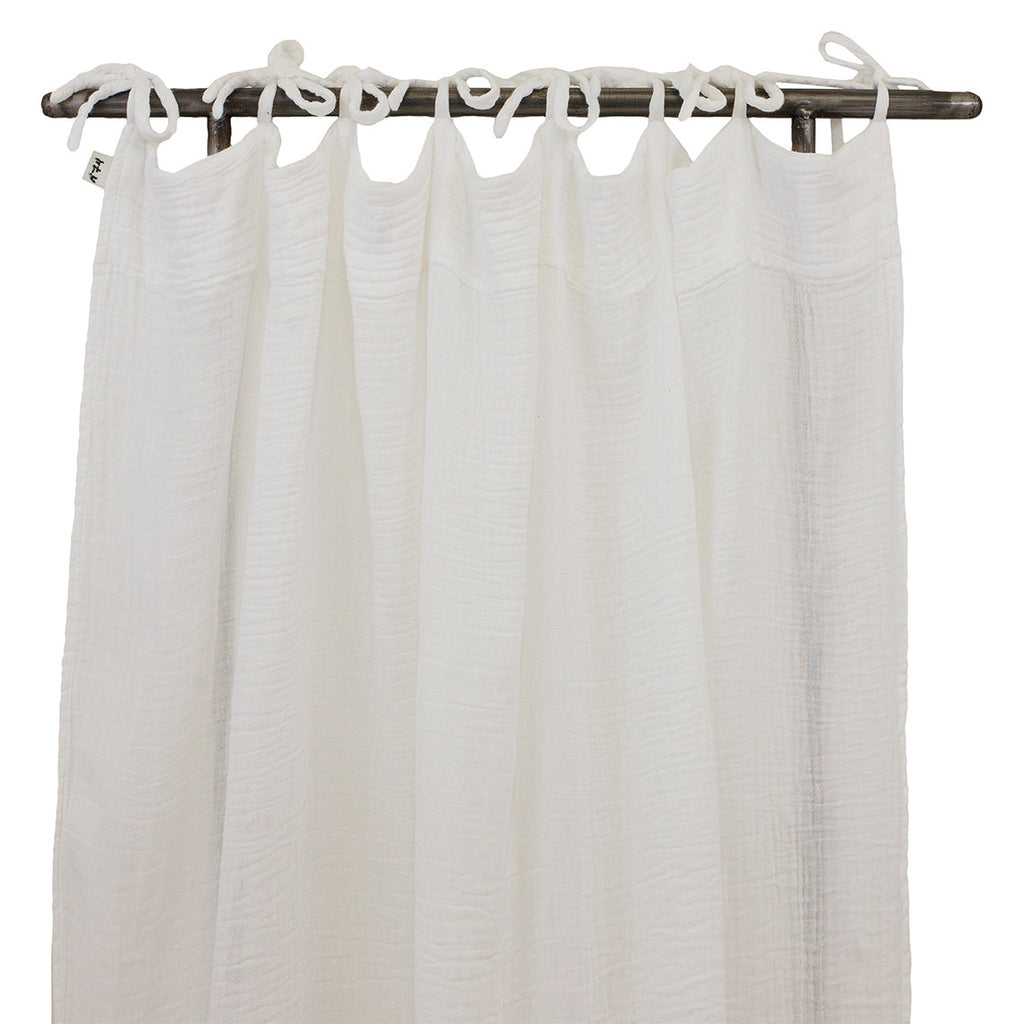 Flat Curtain - White