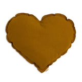 Heart Cushion - Gold
