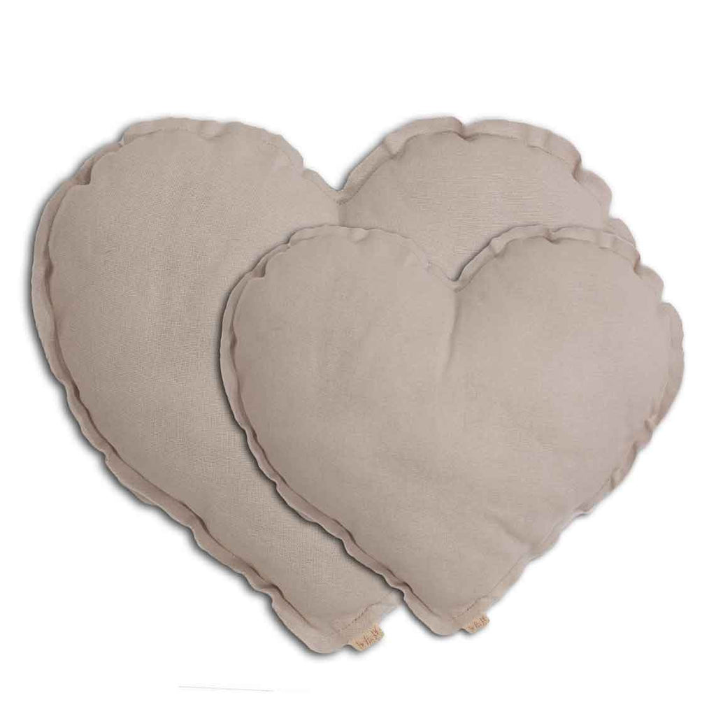 Heart Cushion - Powder