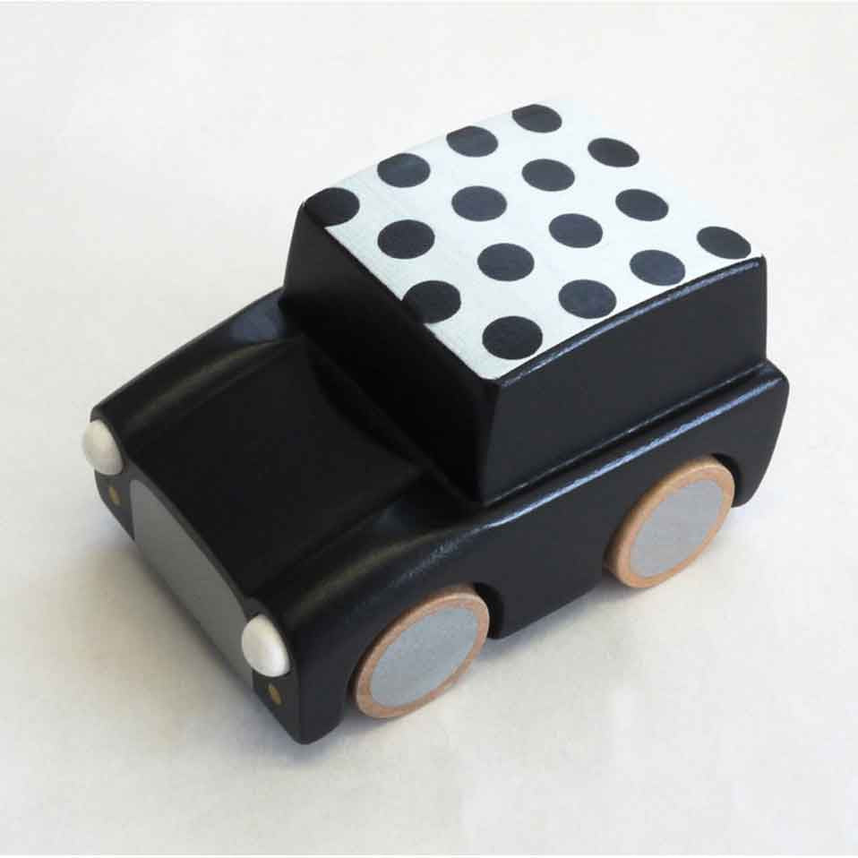 Kuruma Wooden Car (Black)