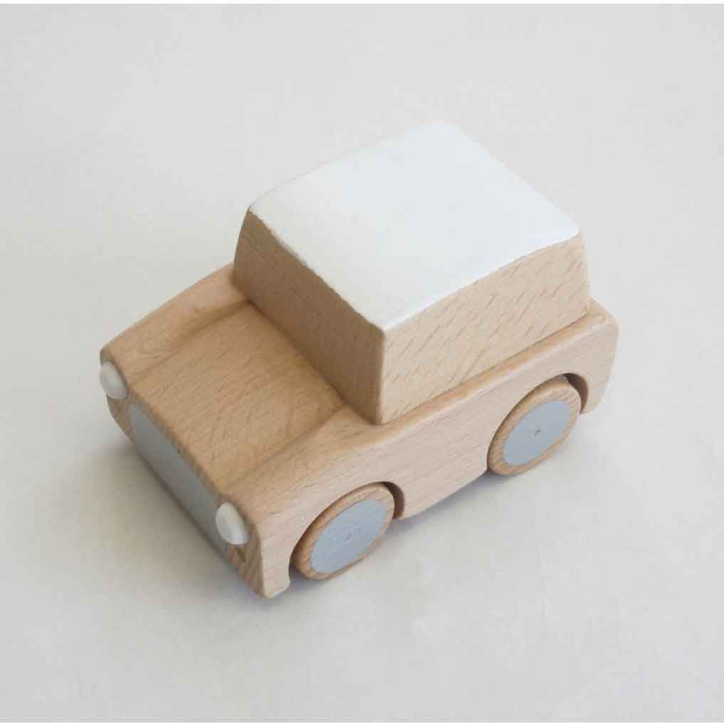 Kuruma Wooden Car (Natural)