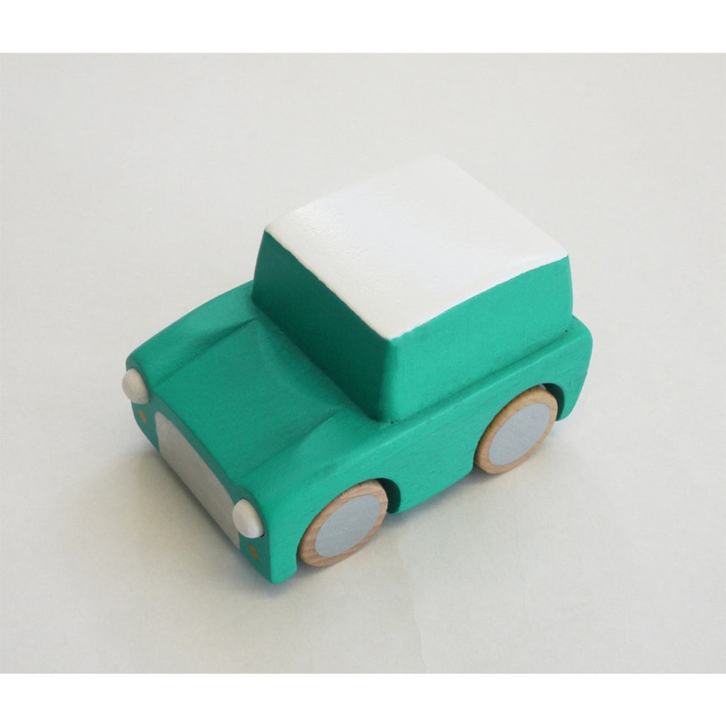 Kuruma Wooden Car (Green)