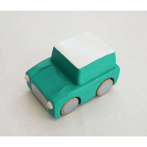 Kuruma Wooden Car (Yellow)