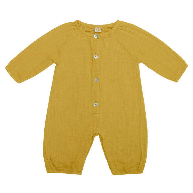 Leni Jumpsuit - Sunflower Yellow