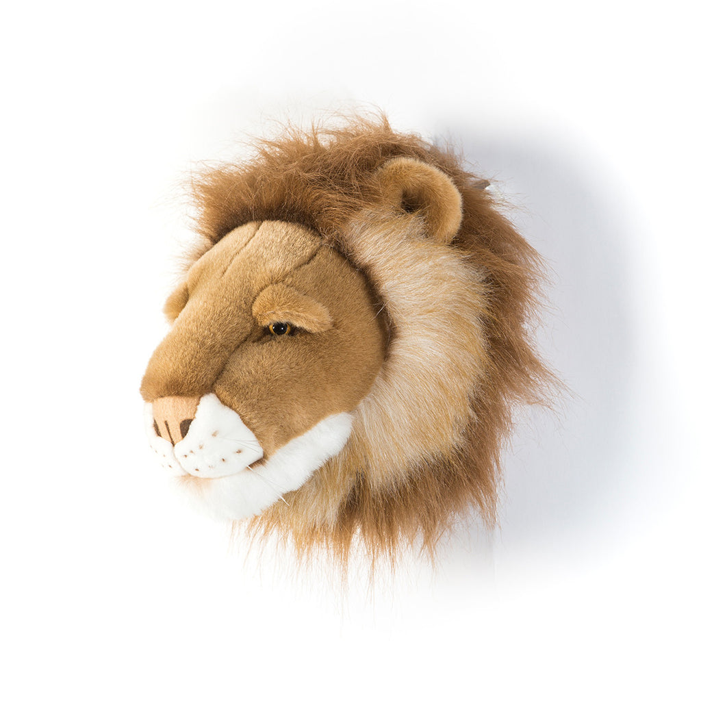 Animal Trophy Heads - Lion Cesar
