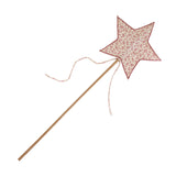 Lovely Star Wand Daisy Cream & Pink Flowers