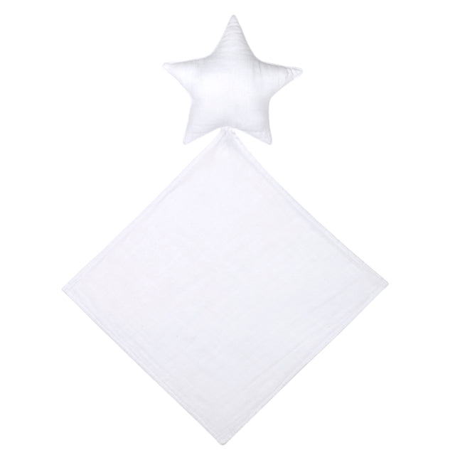 Lovey Star Doudou - White