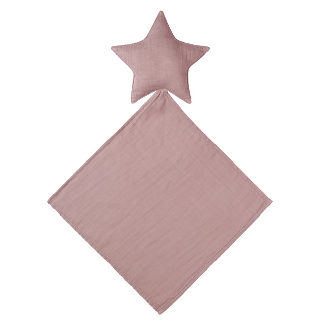 Lovey Star Doudou - Dusty Pink
