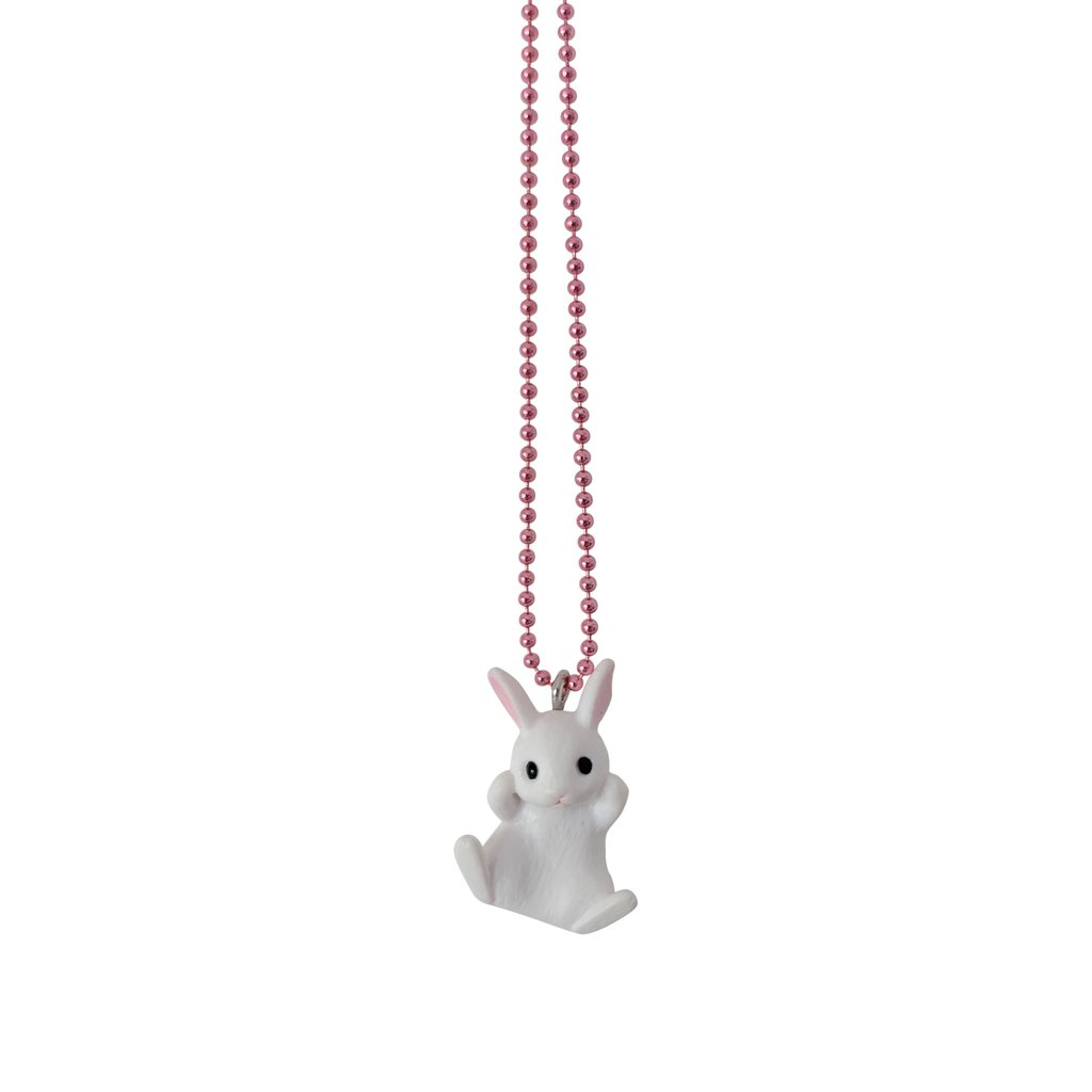 Make Up Bunny Necklace