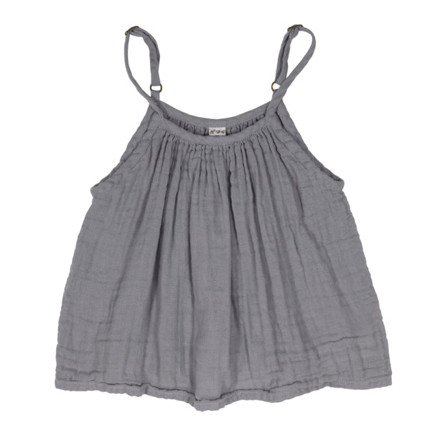 Mia Top Stone Grey