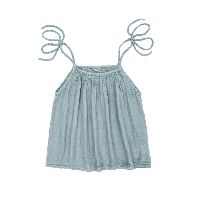 Mia Mum Top - Sweet Blue