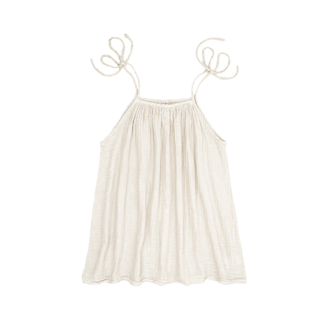 Mia Mum Short Dress - Natural
