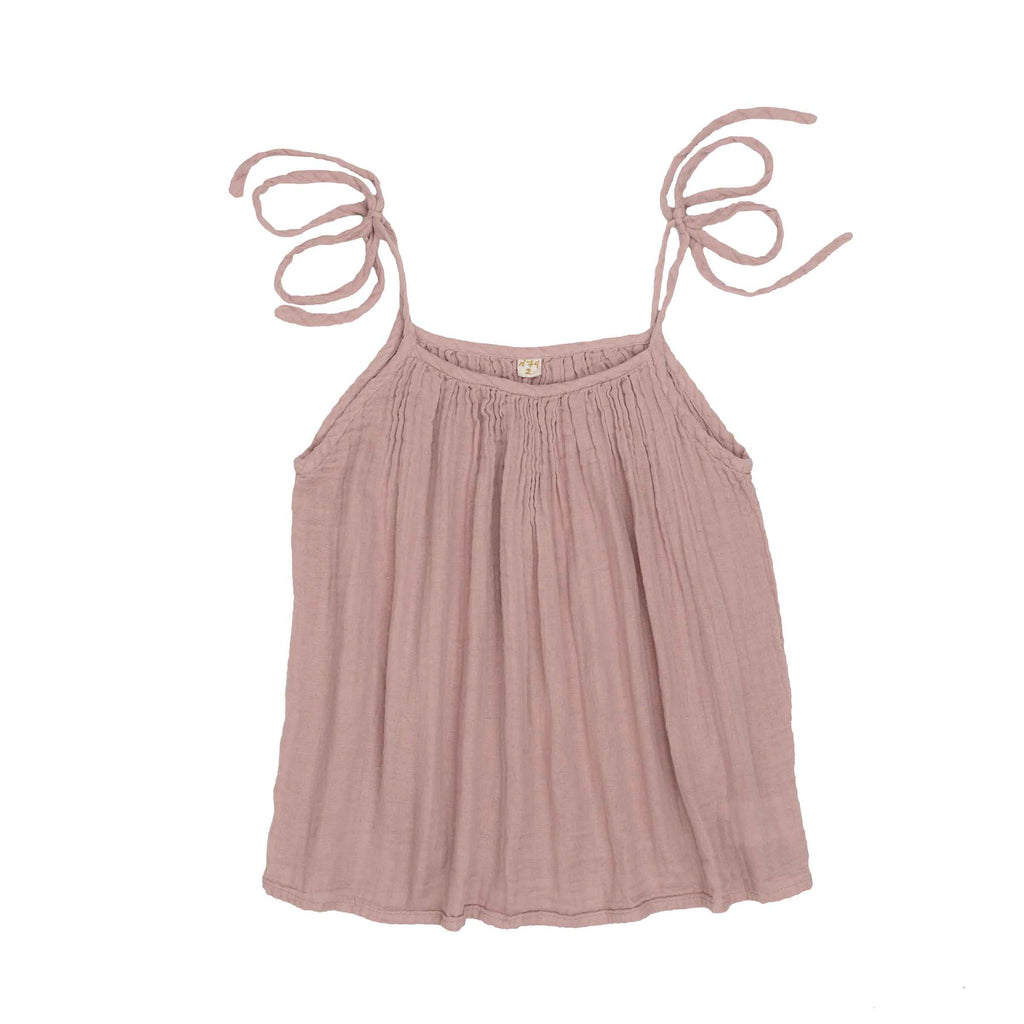 Mia Mum Short Dress - Dusty Pink