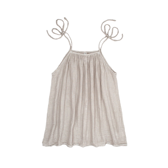 Mia Mum Short Dress - Powder