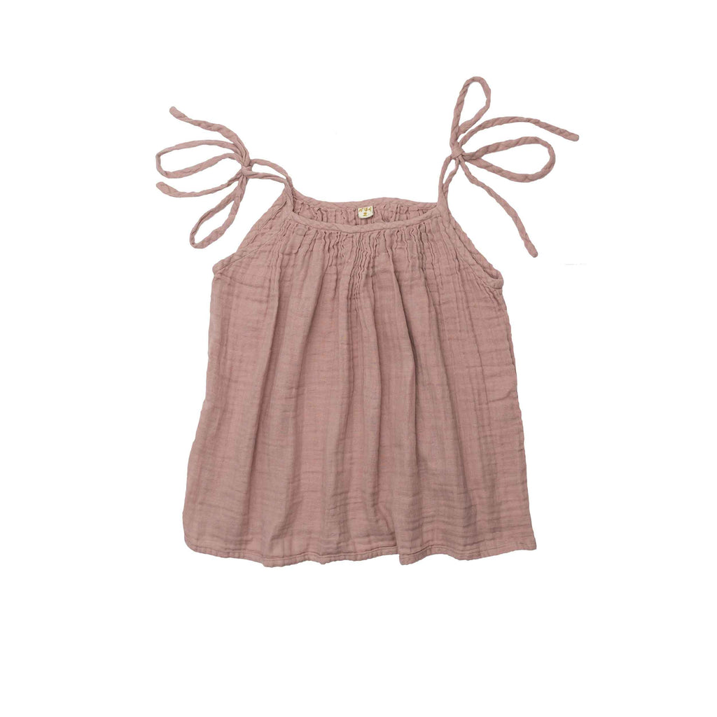 Mia Mum Top - Dusty Pink