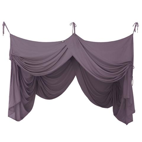 Bed Drape Single - Dusty Lilac