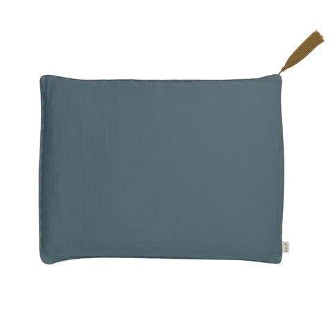 Small Rectangle Cushion - Ice Blue