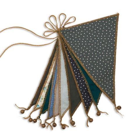 Bunting Garland - Mix Blue