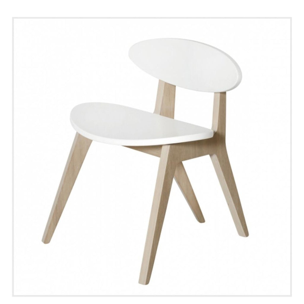 PingPong Chair White/Oak