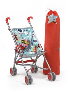 Mini Pram - Bam (Blue and Red Superhero)