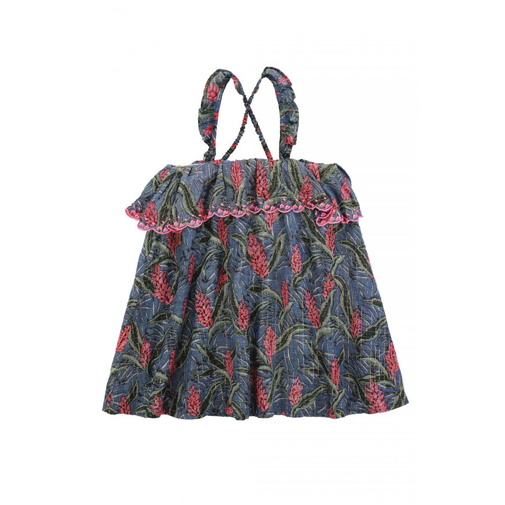 Pama Lagoon Leaves Dress