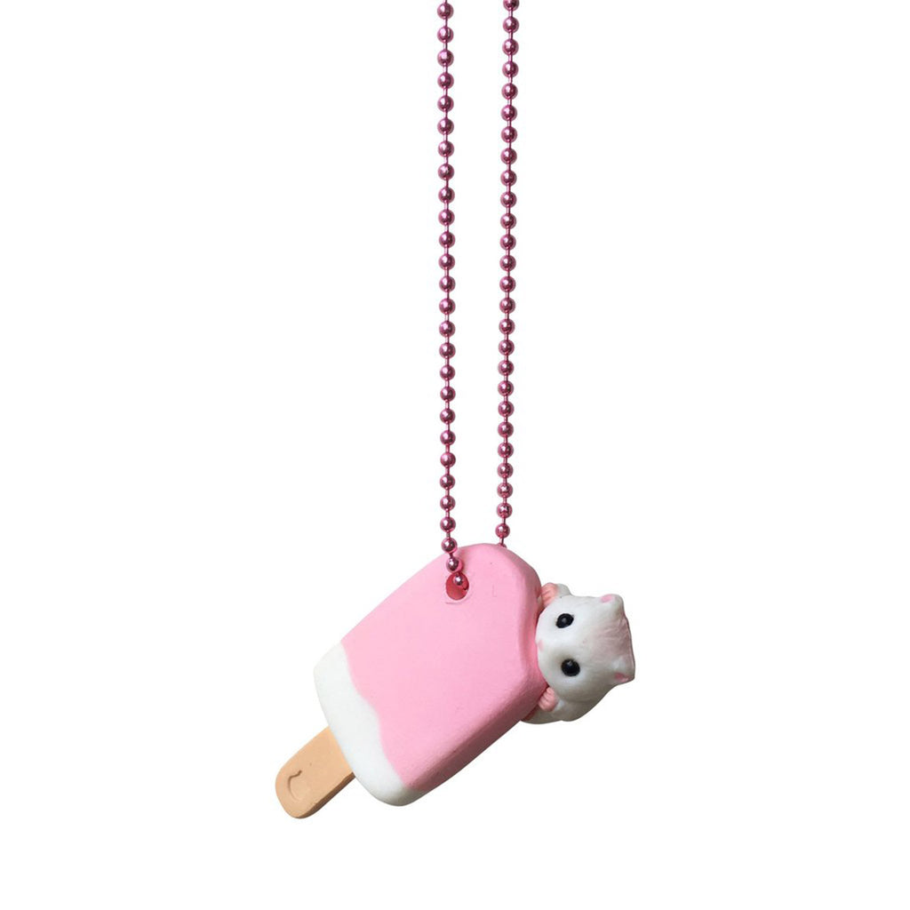 Hamster Ice Cream Necklace