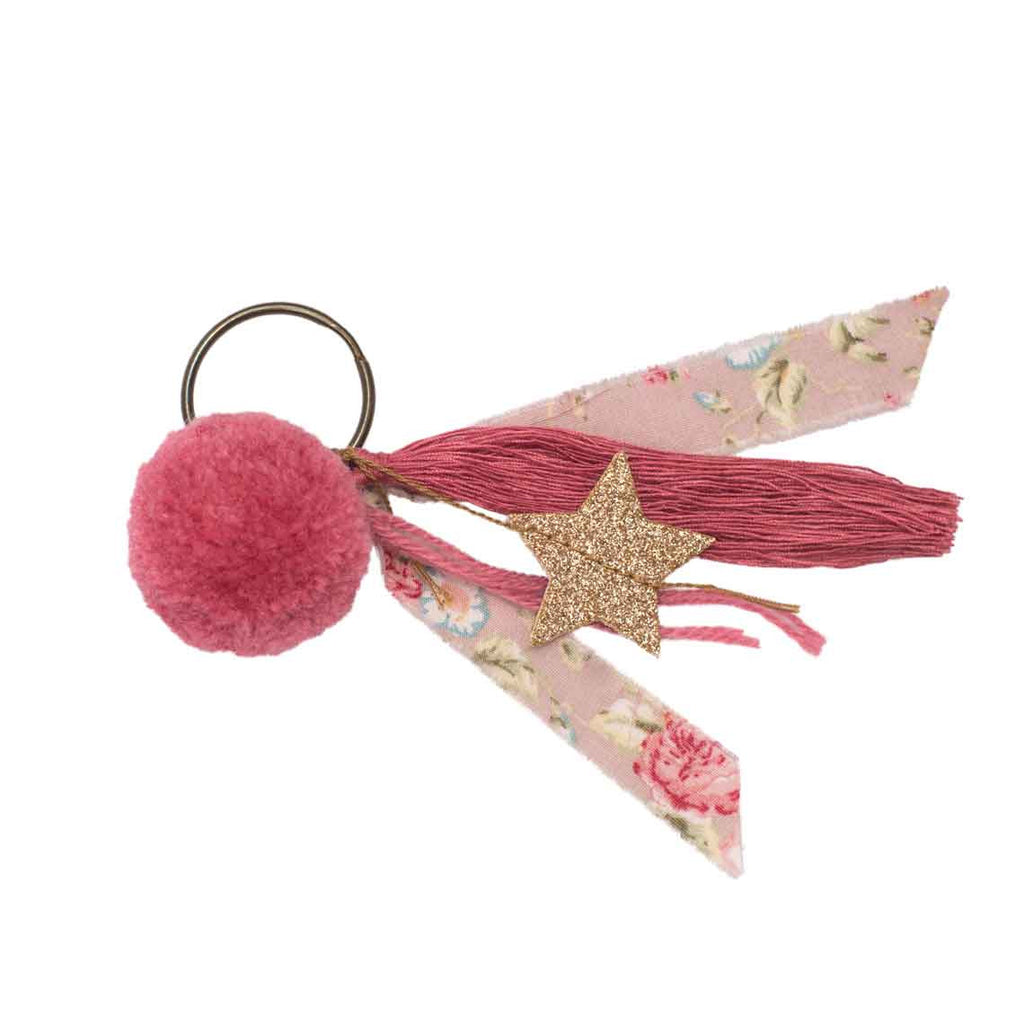 Party Favour - Pompom keychain