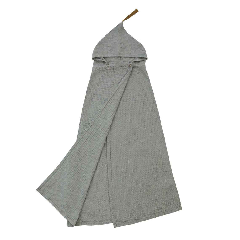Poncho Towel - Silver Grey (Honeycomb)