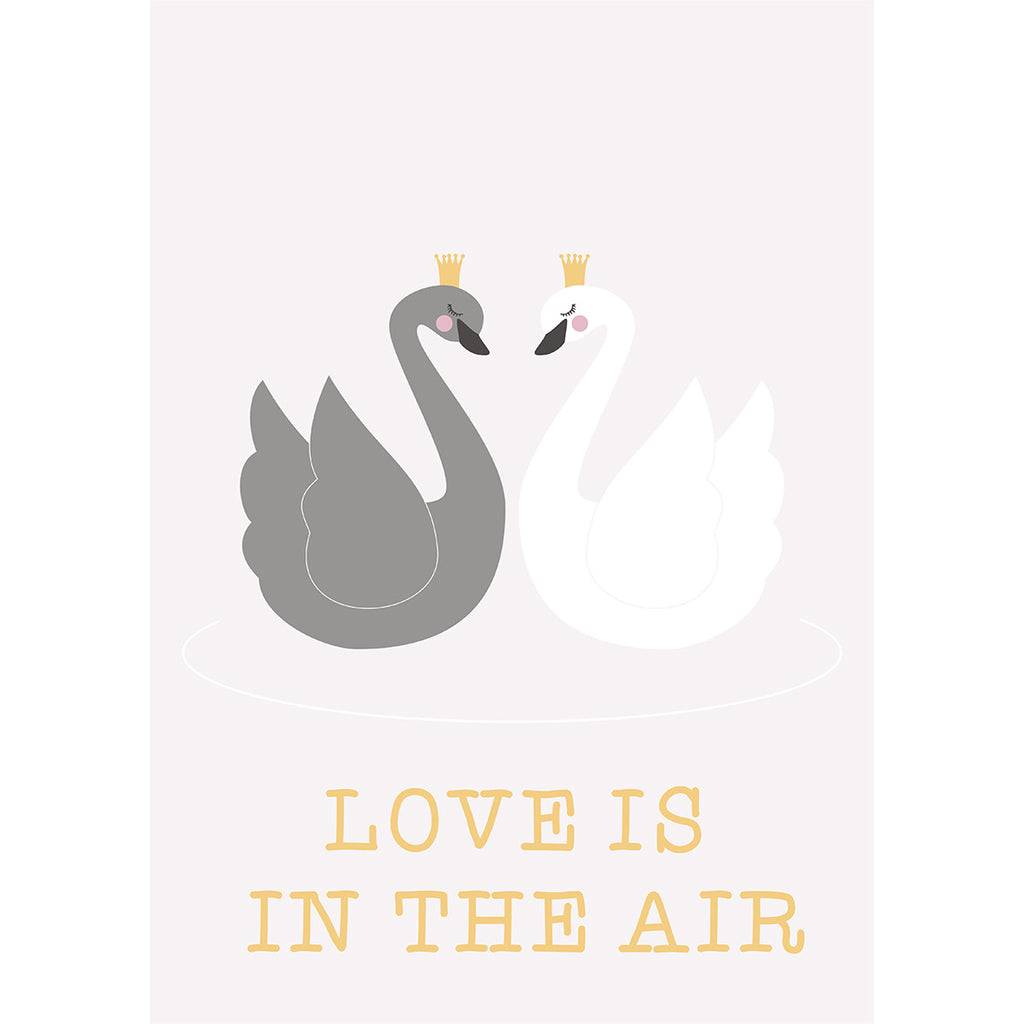 Rose in April - Love Is In The Air Poster