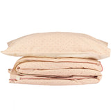 Keiko Print Duvet Cover - Peach Puff/Rose (Single Bed)