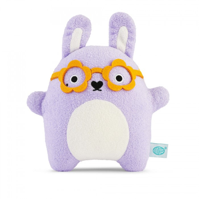 Ricegoovy - Purple Rabbit Glasses Plush