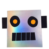 Robot Stickers & Sketch Book