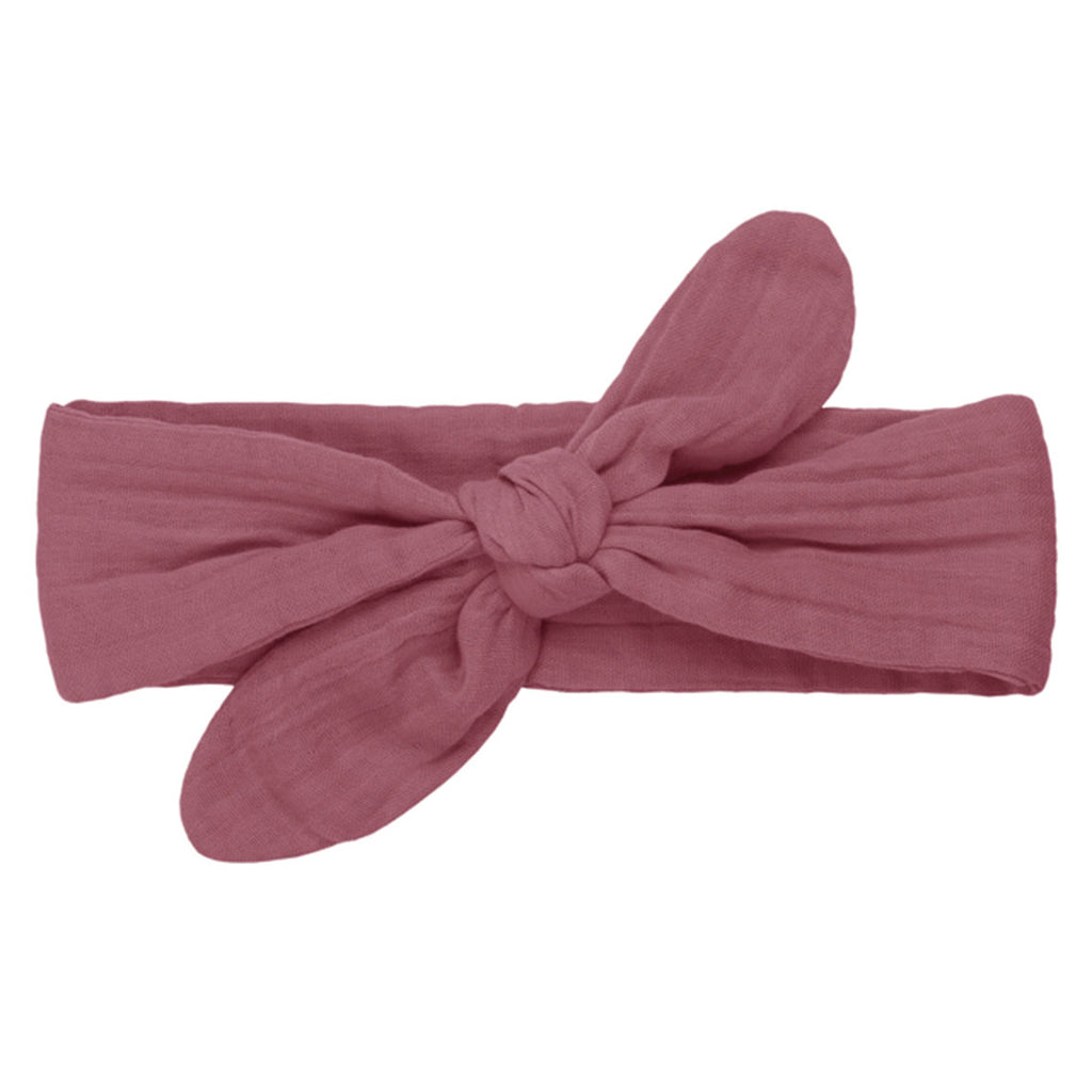 Romy Bow Headband - Baobab Rose